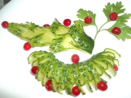 Несколько правил в украшении блюд (2)