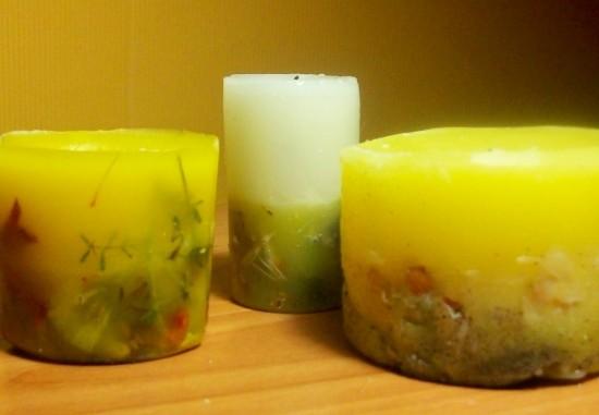Обычную свечку превращаем в необычную (2)