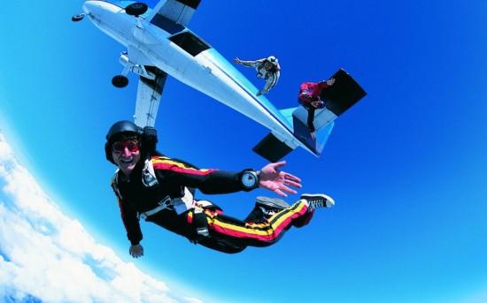 Прыжки с парашютом - экстримальное хобби2