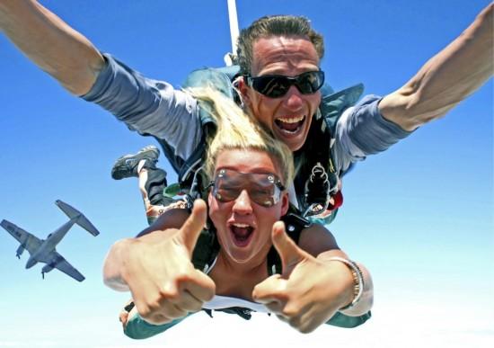 Прыжки с парашютом - экстримальное хобби3