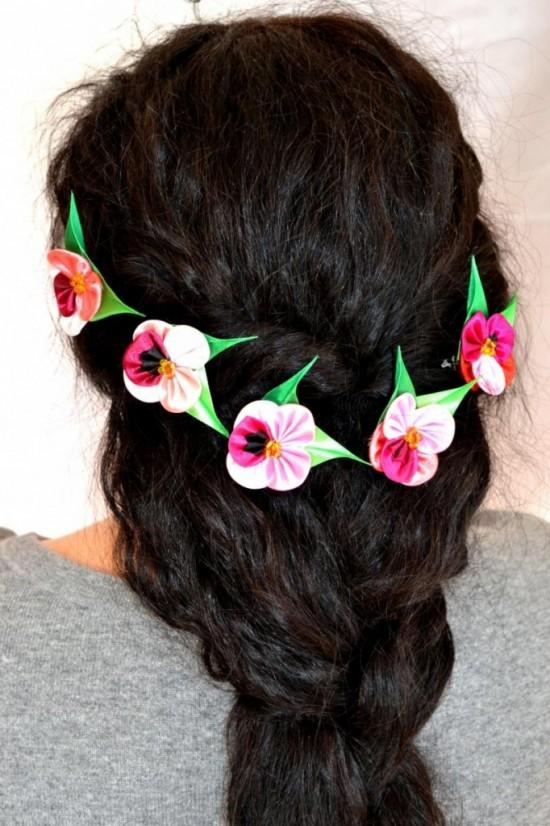 Японские украшения для причёски снова в моде4