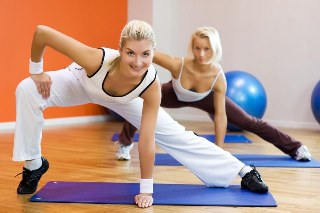 Виды Фитнес Для Похудения.